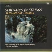 Pyotr Ilyich Tchaikovsky Serenades For Strings UK vinyl LP