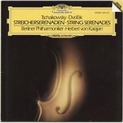 Berliner Philharmoniker Tchaikovsky / Dvorák: Streicherserenaden Germany vinyl LP