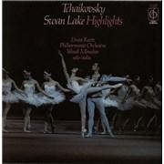 Pyotr Ilyich Tchaikovsky Swan Lake Highlights UK vinyl LP