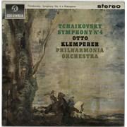 Pyotr Ilyich Tchaikovsky Symphony No.4 in F Minor, Op.36 UK vinyl LP