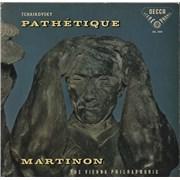 Pyotr Ilyich Tchaikovsky Tchaikovsky: Pathétique UK vinyl LP
