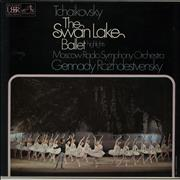 Pyotr Ilyich Tchaikovsky The Swan Lake Ballet Highlights UK vinyl LP