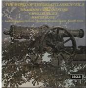 Pyotr Ilyich Tchaikovsky The World Of The Great Classics Vol. 8 UK vinyl LP