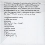 Click here for more info about 'Pyyramids - Brightest Darkest Day'