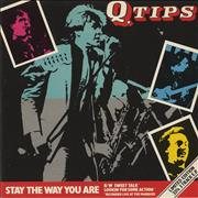 Click here for more info about 'Q-Tips - Stay The Way You Are EP'