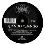 Click here for more info about 'Quando Quango - Love Tempo (Mark Kamins Mix)'