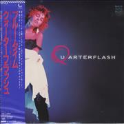 Click here for more info about 'Quarterflash - Back Into Blue - Sealed'
