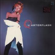 Click here for more info about 'Quarterflash - Back Into Blue'