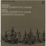 Click here for more info about 'Quartetto Italiano - Debussy: String Quartet In G Minor / Ravel: String Quartet In F Major'