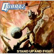 Click here for more info about 'Quartz - Stand Up And Fight + insert'