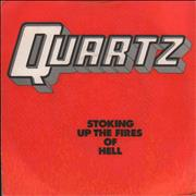 Click here for more info about 'Quartz - Stoking Up The Fires Of Hell'