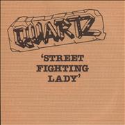 Click here for more info about 'Quartz - Street Fighting Lady - Promo + Sleeve'