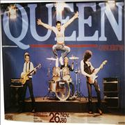 Click here for more info about 'Queen - 1980 German Poster'
