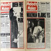 Click here for more info about 'Queen - 2 Issues Of Melody Maker 1976'