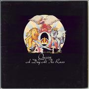 Queen A Day At The Races - 1st - VG UK vinyl LP