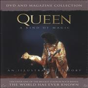 Click here for more info about 'Queen - A Kind Of Magic + Magazine'
