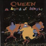 Click here for more info about 'Queen - A Kind Of Magic + poster'