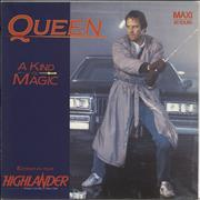 Click here for more info about 'Queen - A Kind Of Magic - Alternative Highlander Sleeve'