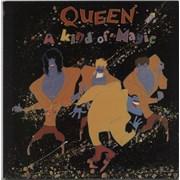 Queen A Kind Of Magic Australia vinyl LP Promo