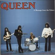 Click here for more info about 'Queen - A Message From The Palace - Blue Vinyl'