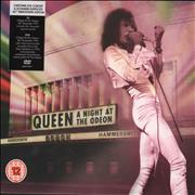Queen A Night At The Odeon + DVD - Sealed UK 2-disc CD/DVD set
