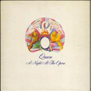 Queen A Night At The Opera - 1st - EX UK vinyl LP