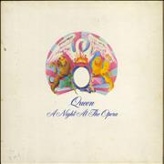 Queen A Night At The Opera - 1st - VG UK vinyl LP
