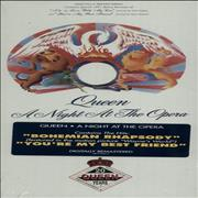 Queen A Night At The Opera - Sealed Longbox USA CD album