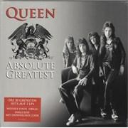 Queen Absolute Greatest - 180gram White Vinyl - Sealed Germany 2-LP vinyl set