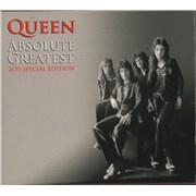 Queen Absolute Greatest UK 2-CD album set