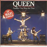 "Queen Another One Bites The Dust Germany 12"" vinyl"