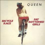 "Queen Bicycle Race + p/s UK 7"" vinyl"