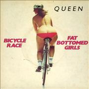 Click here for more info about 'Queen - Bicycle Race - Picture sleeve'