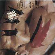 "Queen Body Language - EX Germany 12"" vinyl"
