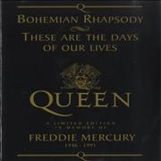 Queen Bohemian Rhapsody - Black UK sheet music