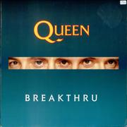 "Queen Breakthru UK 12"" vinyl"