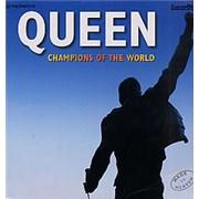 Queen Champions Of The World UK laserdisc