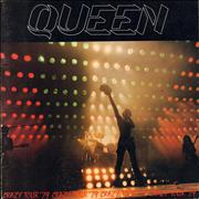 Queen Crazy Tour '79 + Patch & Badge UK tour programme