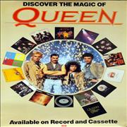 Queen Discover The Magic Of Queen UK poster Promo