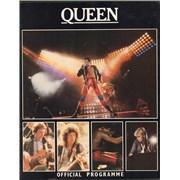 Queen European Tour 1980 + Pass UK tour programme