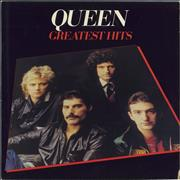 Queen Greatest Hits - EX UK vinyl LP