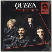 Click here for more info about 'Queen - Greatest Hits - Red Vinyl - Sealed'