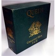 Queen Greatest Hits Box I & II UK cd album box set