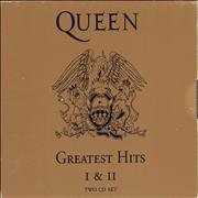 Click here for more info about 'Queen - Greatest Hits I & II + Slipcase'