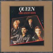 Queen Greatest Hits I & II UK 2-CD album set