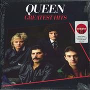Click here for more info about 'Queen - Greatest Hits: Target exclusive - Red Vinyl - Sealed'