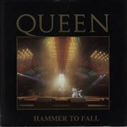 Click here for more info about 'Hammer To Fall - Live Sleeve - EX'
