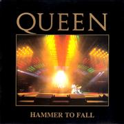Click here for more info about 'Queen - Hammer To Fall - Live Sleeve'