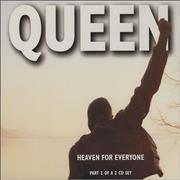 Queen Heaven For Everyone - Part 2 UK CD single