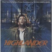 Queen Highlander UK CD album Promo